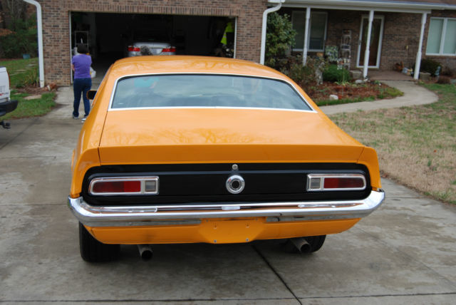 Ford Other Coupe 1970 Orange For Sale 0k91t338754 1970