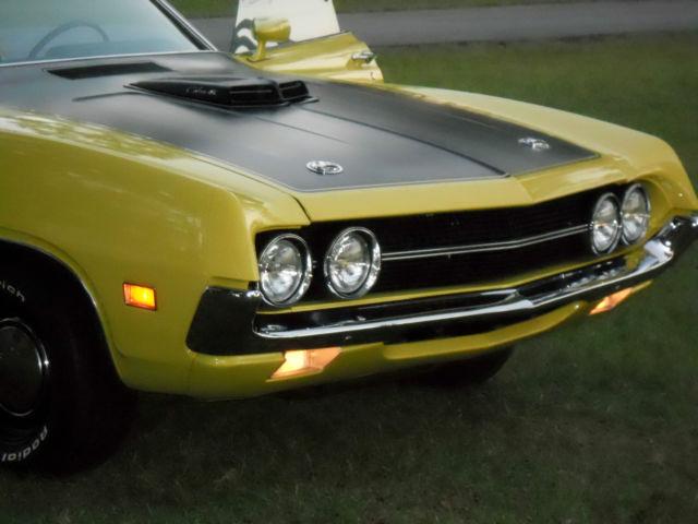 Ford Torino Sportsroof  Yellow For Sale Aj  Ford Torino Cobra Cj