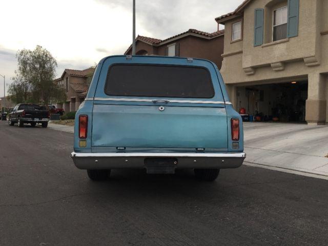 Gmc Suburban Suv 1970 Blue For Sale 1970 Gmc Chevy