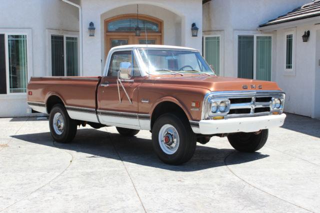 gmc sierra 2500 standard cab pickup 1970 copper for sale ke234zz64478 1970 gmc k20 4 wheel. Black Bedroom Furniture Sets. Home Design Ideas