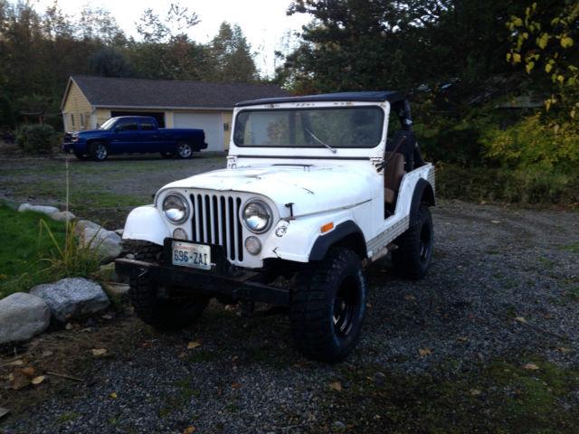 Jeep CJ Convertible 1970 White For Sale  8305017360821 1970