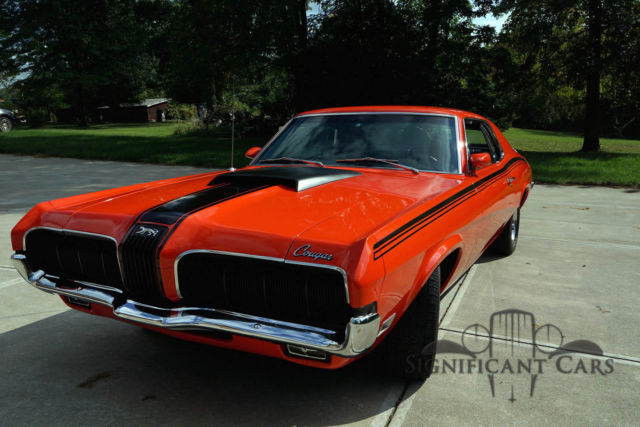 Mercury Cougar Coupe 1970 Red For Sale  OF91Q509914 1970