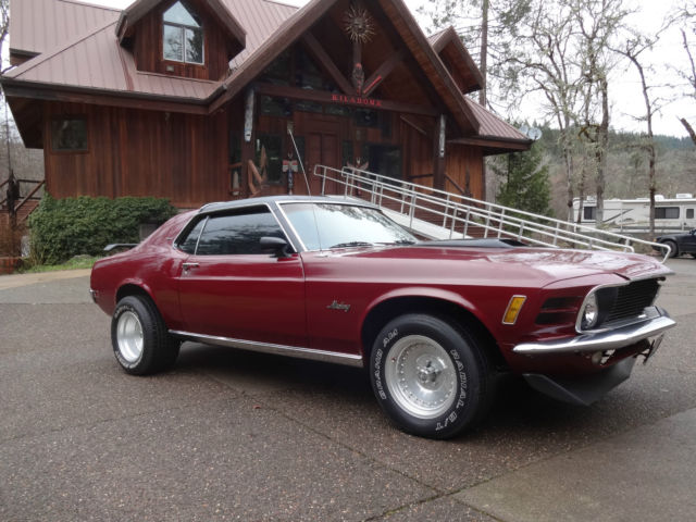 ford mustang 1970 wine for sale 0f04h121450 1970 mustang. Black Bedroom Furniture Sets. Home Design Ideas