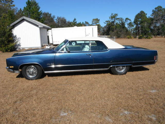 How Much To Rebuild A Transmission >> Oldsmobile Ninety-Eight 1970 Blue For Sale. 1970 ...