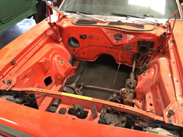 Plymouth Barracuda 1970 Orange For Sale  1970 Plymouth Cuda  With 6k Miles 6 1 Hemi  And