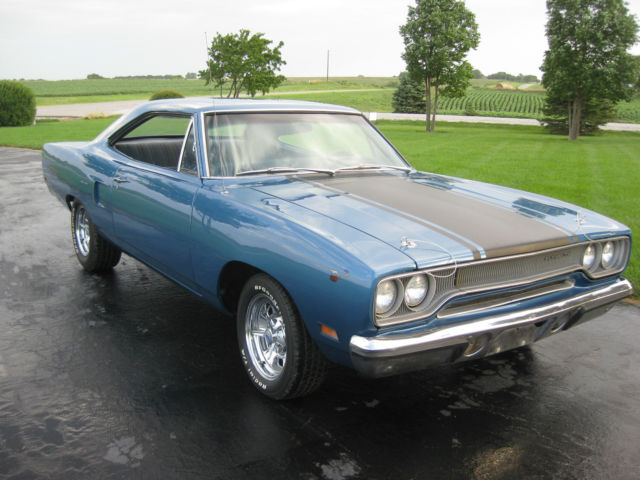 plymouth road runner coupe 1970 blue for sale rh23g0g164612 1970 plymouth road runner a c auto. Black Bedroom Furniture Sets. Home Design Ideas