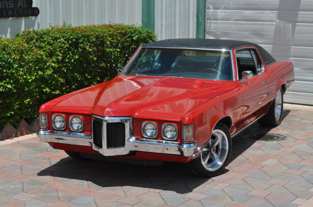 Pontiac Grand Prix Coupe 1970 Red For Sale 2765704106760