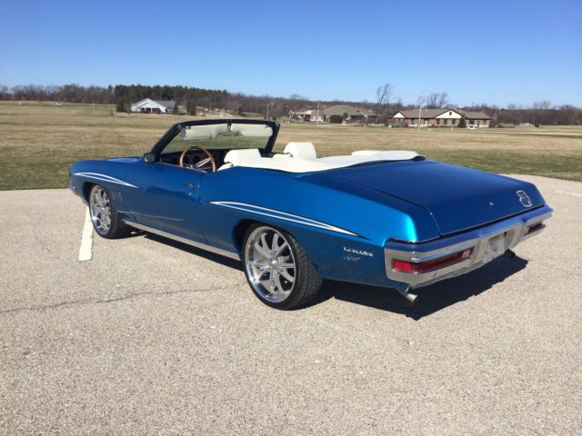 pontiac le mans convertible 1970 blue for sale 237670p128133 1970 pontiac lemans sport 350. Black Bedroom Furniture Sets. Home Design Ideas