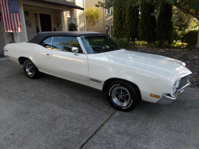 buick skylark convertible 1971 white for sale. 1971 buick skylark
