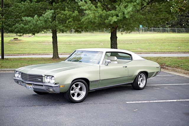 buick skylark coupe 1971 green for sale. 444371z107732 1971 buick