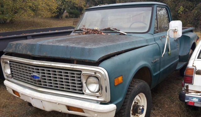 chevrolet c k pickup 2500 xfgiven type xfields type xfgiven type 1971 green for sale. Black Bedroom Furniture Sets. Home Design Ideas