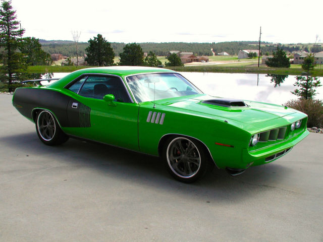 Plymouth Barracuda 1971 Sassy Grass Green For Sale