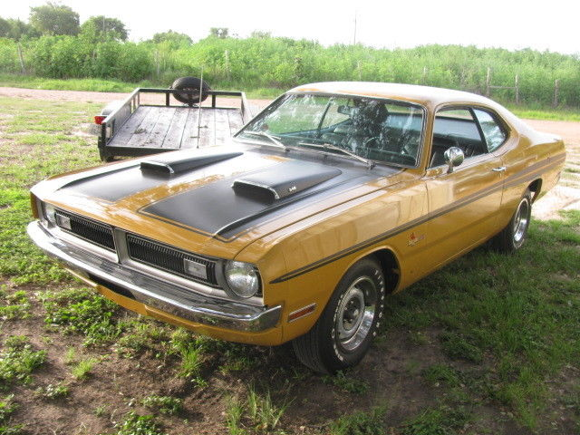 dodge dart coupe 1971 yellow for sale ll29g1e111981 1971 dodge demon hp 340 auto ac disc. Black Bedroom Furniture Sets. Home Design Ideas