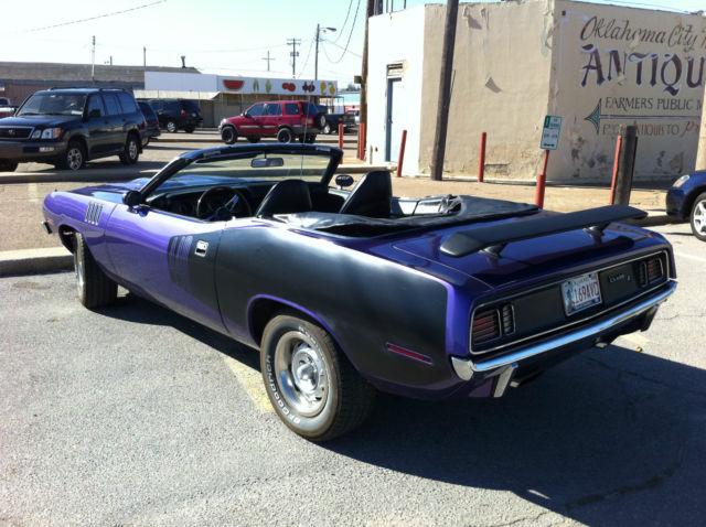 barracuda 1971 convertible - photo #19