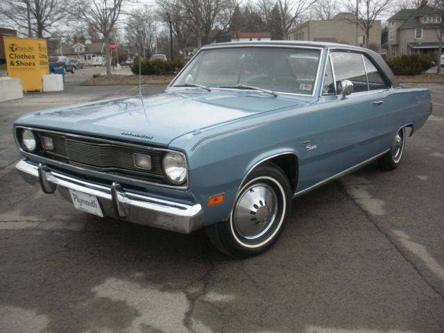 Plymouth Valiant 1971 Blue For Sale Vh23c1r254349 1971