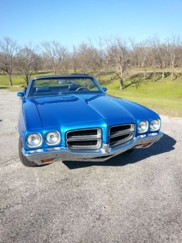 pontiac le mans convertible 1971 blue for sale 237671p168321 1971 pontiac lemans sport. Black Bedroom Furniture Sets. Home Design Ideas