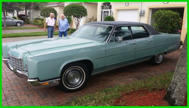 Lincoln Town Car Sedan 1972 Other Color For 00000000000000000 1971 1973 Continental Clic Free Shipping No Reserve