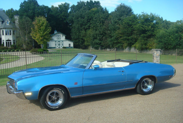 buick skylark 1972 blue for sale 4g67u2h112 1972 buick gs 455 convertible 1 of 76 stratomist. Black Bedroom Furniture Sets. Home Design Ideas