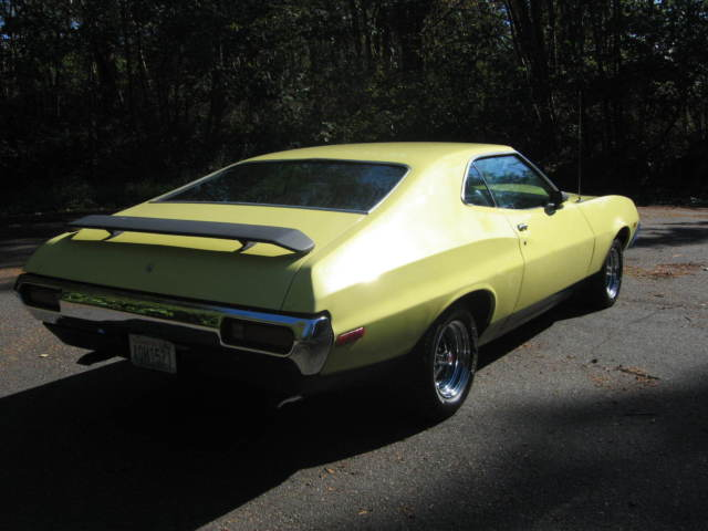 ford torino fastback 1972 yellow for sale 2a35q168330 1972 ford gran torino sport fastback q. Black Bedroom Furniture Sets. Home Design Ideas