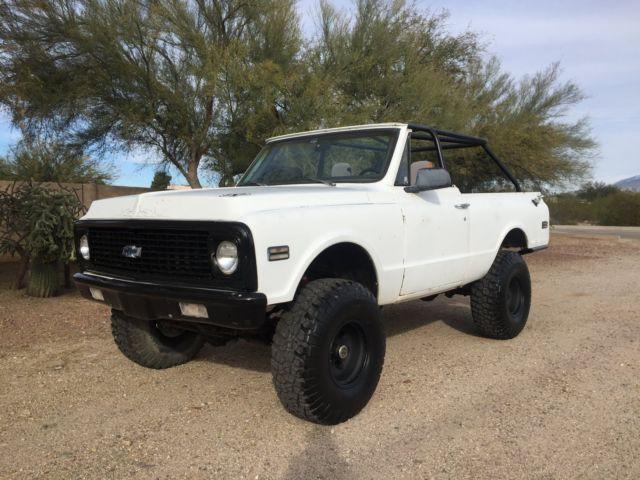 Chevrolet Blazer Convertible 1972 White For Sale ...