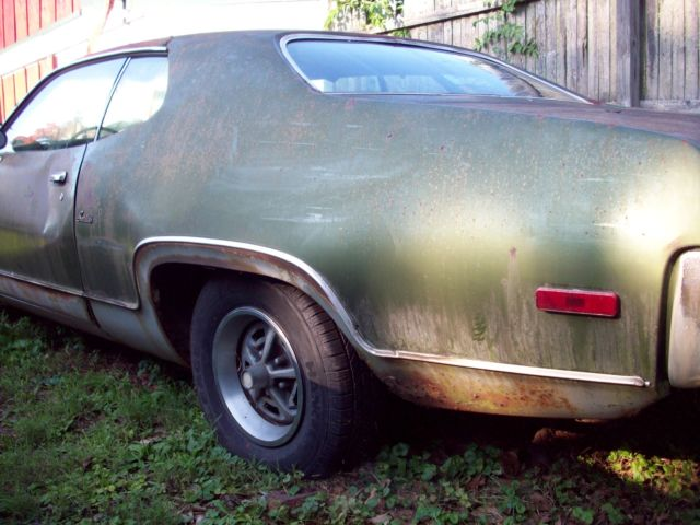 Plymouth Satellite Coupe 1972 Green and Siver 2-Tone For ...