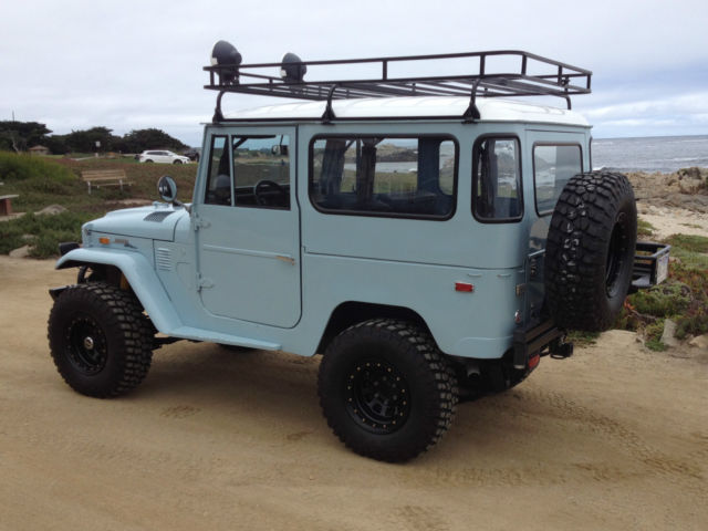 Toyota Land Cruiser 1972 Blue For Sale  1972 Toyota FJ40 Landcruiser