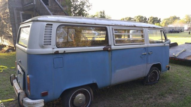 volkswagen bus vanagon extended passenger van 1972 blue for sale 1972 volkswagen vw bus westy. Black Bedroom Furniture Sets. Home Design Ideas