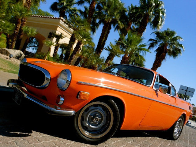 Volvo NO RESERVE Coupe 1972 Orange For Sale. 1826364038409 1972 VOLVO P1800 FUEL INJECTION LOW ...