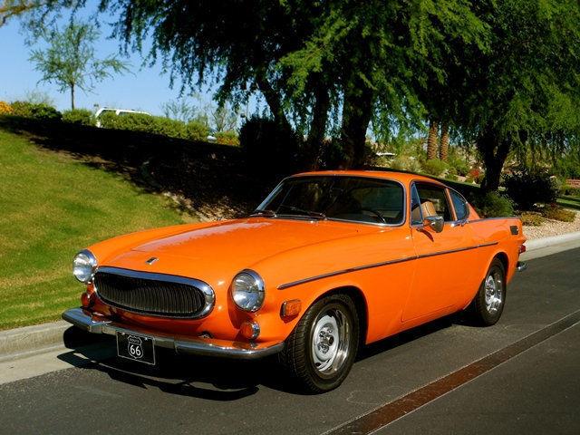 Volvo no reserve coupe 1972 orange for sale 1826364038409 for Motor mile auto sales