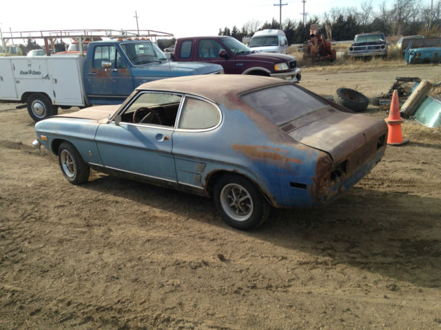 Mercury Capri Coupe 1973 Blue For Sale Xfgiven Vin