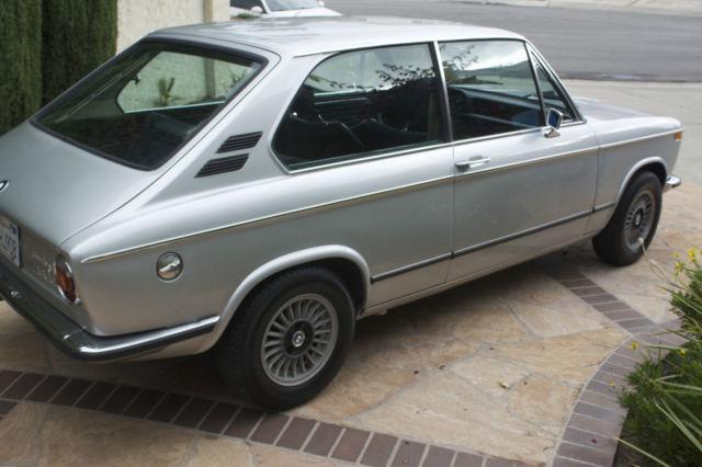 bmw 2002 2 door hatchback 1973 silver for sale 3291162. Black Bedroom Furniture Sets. Home Design Ideas