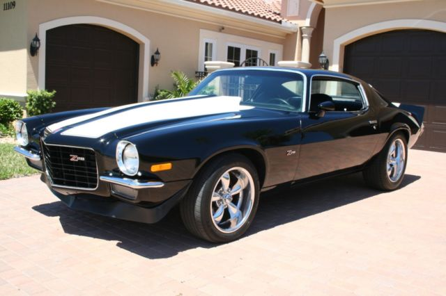 Used Cars West Palm Beach >> Chevrolet Camaro Coupe 1973 Black With White Z/28 Stripes For Sale. 1973 Camaro Z/28 LS2 ...