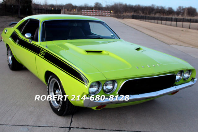 dodge challenger coupe 1973 green for sale 1973 dodge. Black Bedroom Furniture Sets. Home Design Ideas