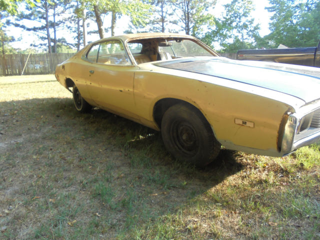 Ga Bill Of Sale For Car >> Dodge Charger Coupe 1973 Yellow/Gold For Sale. WH23G3G ...