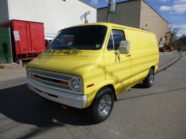 Dodge Other Standard Passenger Van 1973 Yellow For Sale