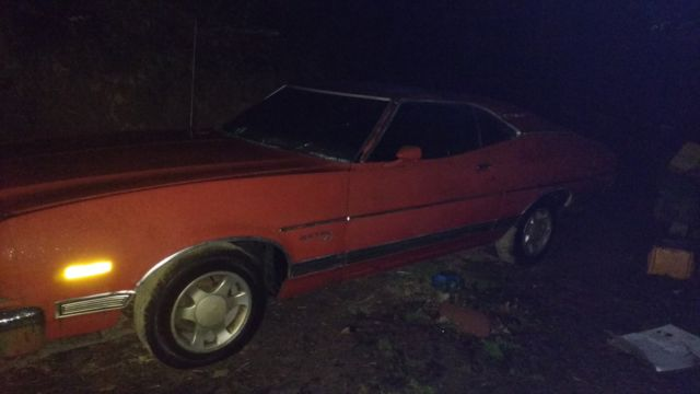 Ford Torino 2door hard ht 1973 Orange For Sale  3a35q227930