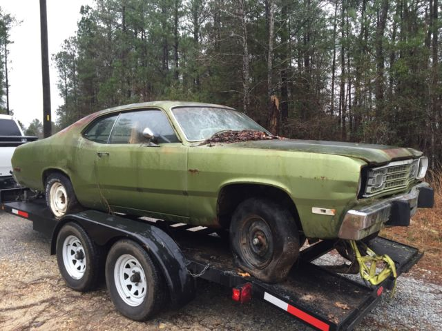 Plymouth Duster Coupe 1973 Green For Sale 123517114 1973