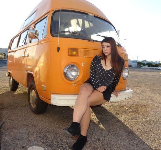 Where Can I Buy A Volkswagen Bus: Volkswagen Bus/Vanagon Type 2 Kombi 1973 Orange / White