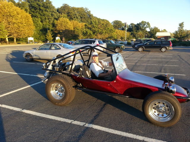 Sand Rail Headlight Street : Volkswagen other dune buggy cherry red for sale