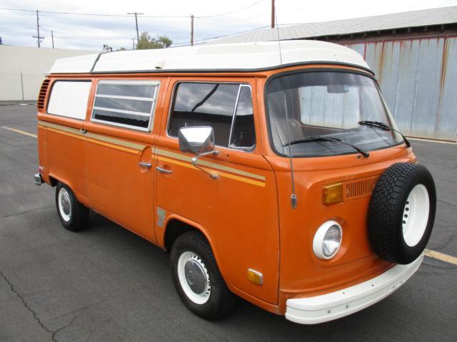 volkswagen bus vanagon 1973 orange for sale 2332158235 1973 vw westfalia campermobile solid. Black Bedroom Furniture Sets. Home Design Ideas