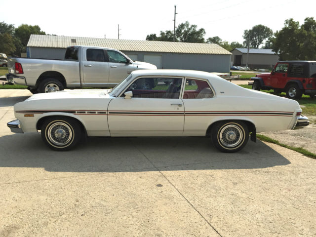 buick other coupe 1974 arctic white for sale ... 1974 buick apollo wiring diagram 1974 chevy nova wiring diagram #15