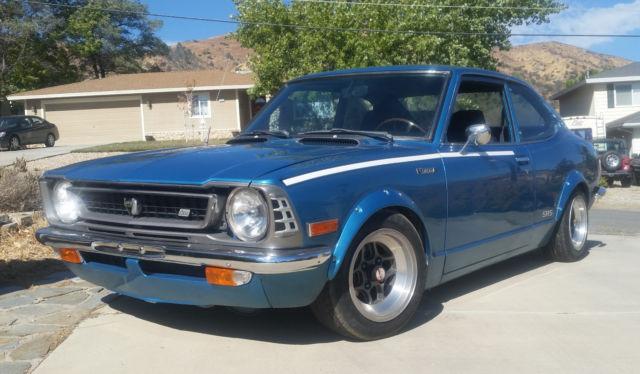 toyota corolla coupe 1974 blue for sale 1974 corolla te27 sr5 original. Black Bedroom Furniture Sets. Home Design Ideas