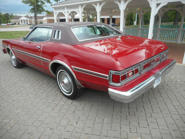 Ford Torino Coupe 1974 Red For Sale  4G21H249993 1974 Ford