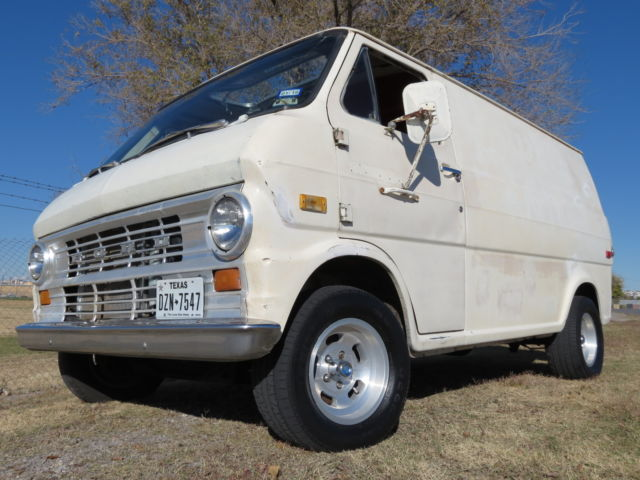 ford e series van van 1974 white for sale e14ahv62306 1974 ford van shorty classic van. Black Bedroom Furniture Sets. Home Design Ideas