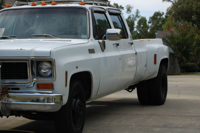 GMC Sierra 3500 Crew Cab Pickup 1974 white For Sale. 1974 ...