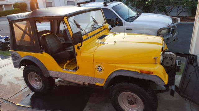 For sale 1974 Jeep CJ5 CJ-5 & Jeep CJ5 CJ-5 SUV 1974 Yellow For Sale. J4F835TH79308 1974 Jeep CJ5 ...