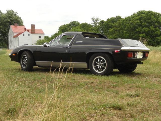 Worksheet. Lotus Europa Coupe 1974 Black For Sale 73104580R 1974 Lotus