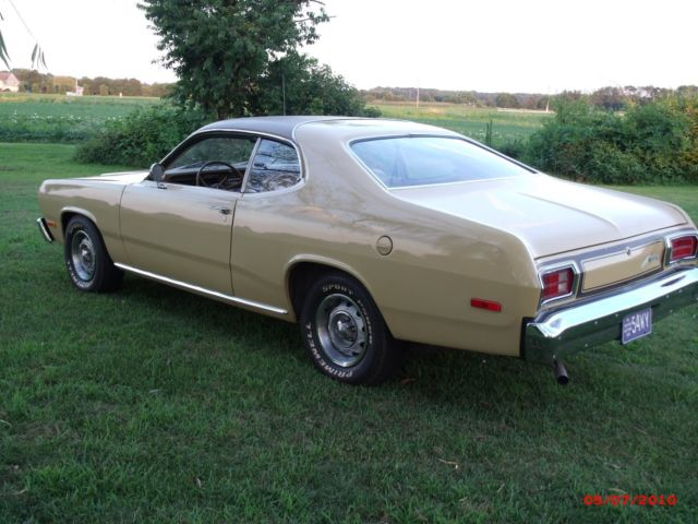 1974 Plymouth Duster Vinyl Top Plymouth Duster Coupe 1974