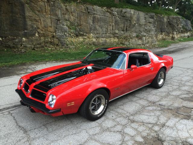 pontiac firebird coupe 1974 buccaneer red for sale xfgiven vin rh findclassicars com pontiac firebird manual v6 pontiac firebird manual v6