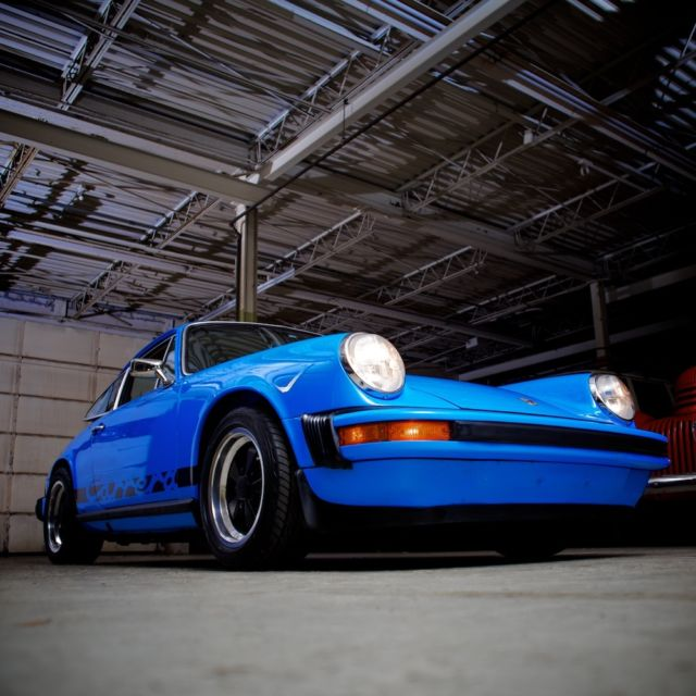 Porsche 911 Coupe 1974 Mexico Blue For Sale. 9114101107